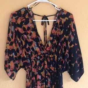 *Brand new* LOVE STITCH maxi dress